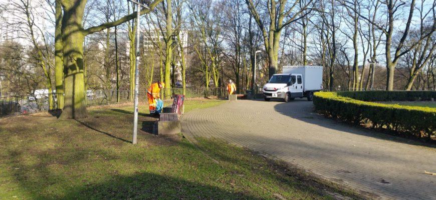 Reinigung von öffentlichen Flächen, HEG Hamburg