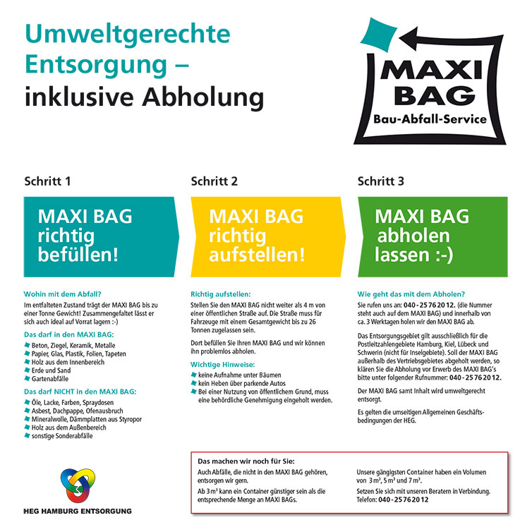 HEG MAXI BAG Bau-Abfall-Service