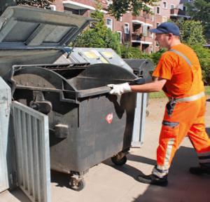 Müllcontainer Standplatz Unterhalt, Pflege und Reinigung HEG